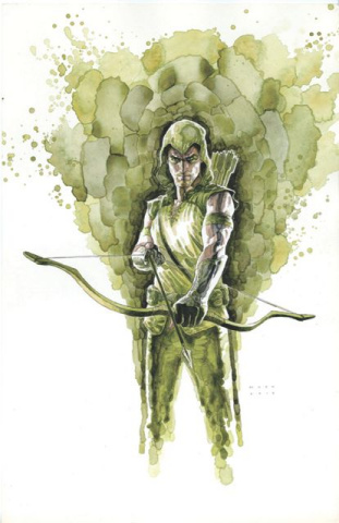 Green Arrow #8 Var Ed (Mac Cover)