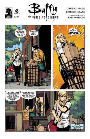 Buffy the Vampire Slayer, Season 11 #8 (Isaacs Cover)