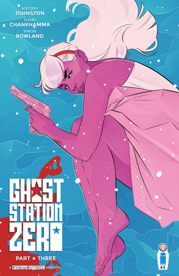 Ghost Station Zero #3 (Hoelzemann Cover)