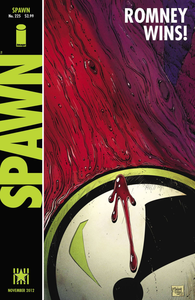 Spawn #225 (Romney Cover)
