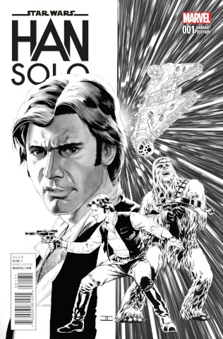 Star Wars: Han Solo #1 (Cassaday Sketch Cover)