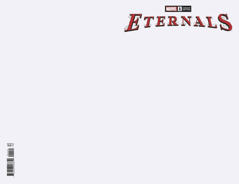 Eternals #1 (Blank Cover)
