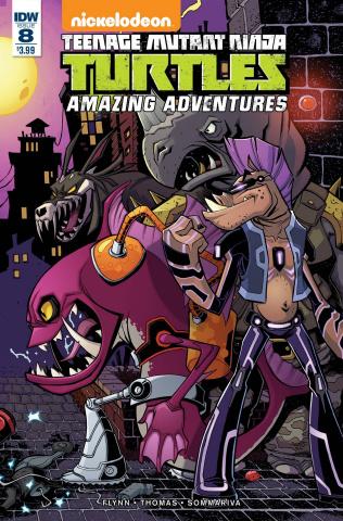 Teenage Mutant Ninja Turtles: Amazing Adventures #8