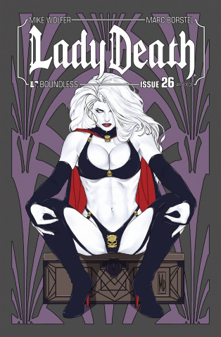 Lady Death #26 (Art Deco Variant Cover)