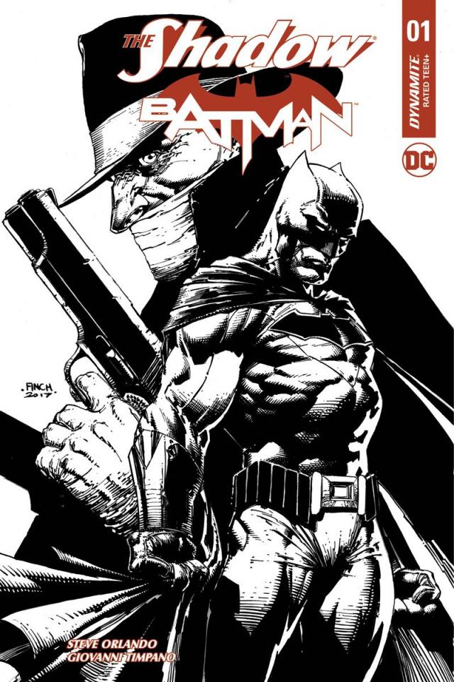 The Shadow / Batman #1 (100 Copy Finch Cover)