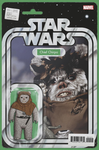 Star Wars #51 (Christopher Action Figure Cover)