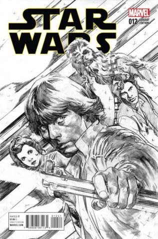 Star Wars #12 (Immonen Sketch Cover)