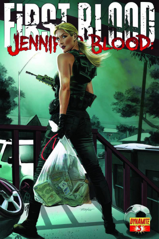 Jennifer Blood: First Blood #3