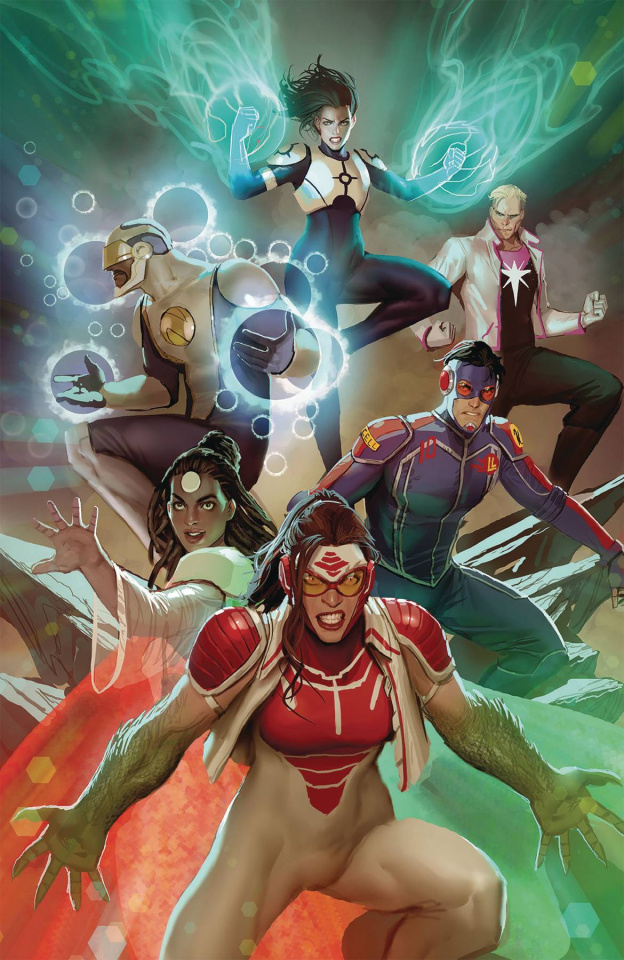 Catalyst Prime: Seven Days #7 (Witter Cover)