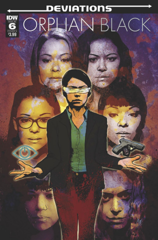Orphan Black: Deviations #6 (Staggs Cover)