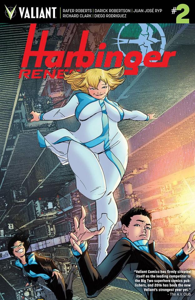 Harbinger: Renegade #2 (Pollina Cover)