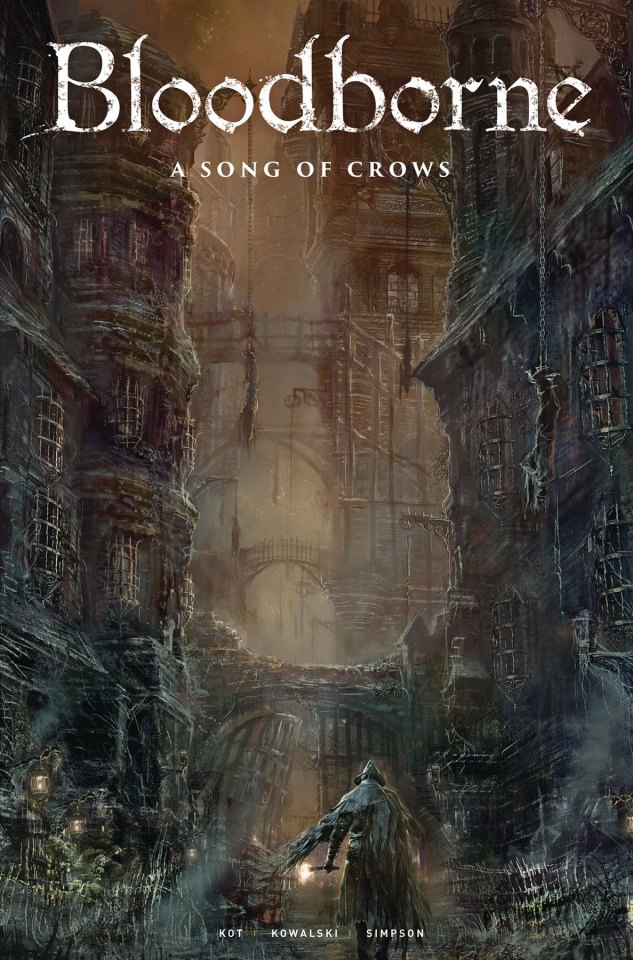 Bloodborne #9: Song of Crows (Concept Art Cover)