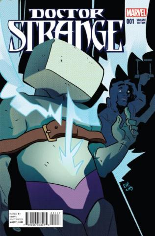 Doctor Strange #1 (Henderson Kirby Monster Cover)