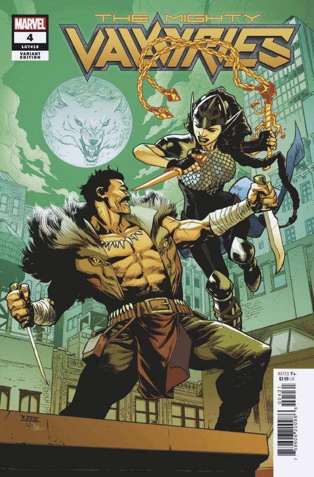 The Mighty Valkyries #4 (Asrar Cover)