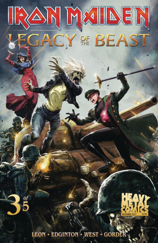 Iron Maiden: Legacy of the Beast #3 (Casas Cover)