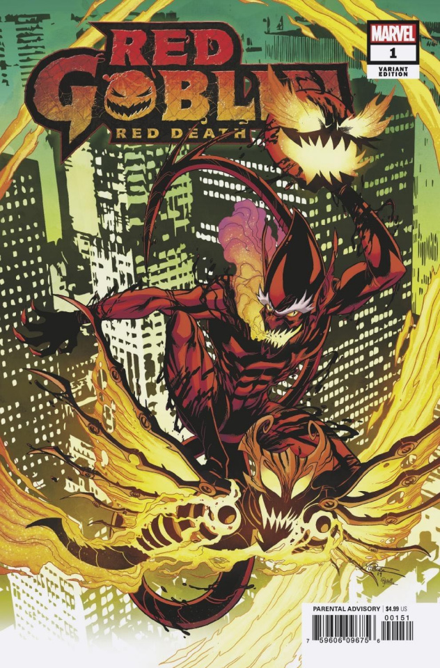 Red Goblin: Red Death #1 (Lubera Cover)