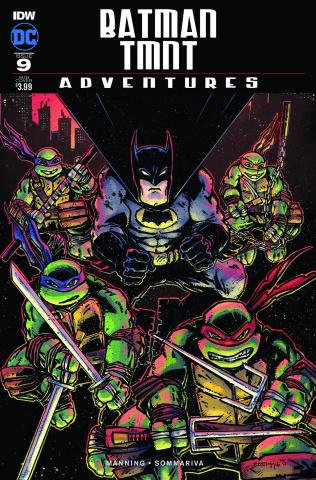 Batman / TMNT Adventures #1 (Subscription Cover B)