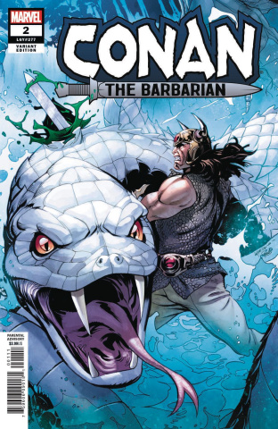 Conan the Barbarian #2 (Lupacchino Cover)