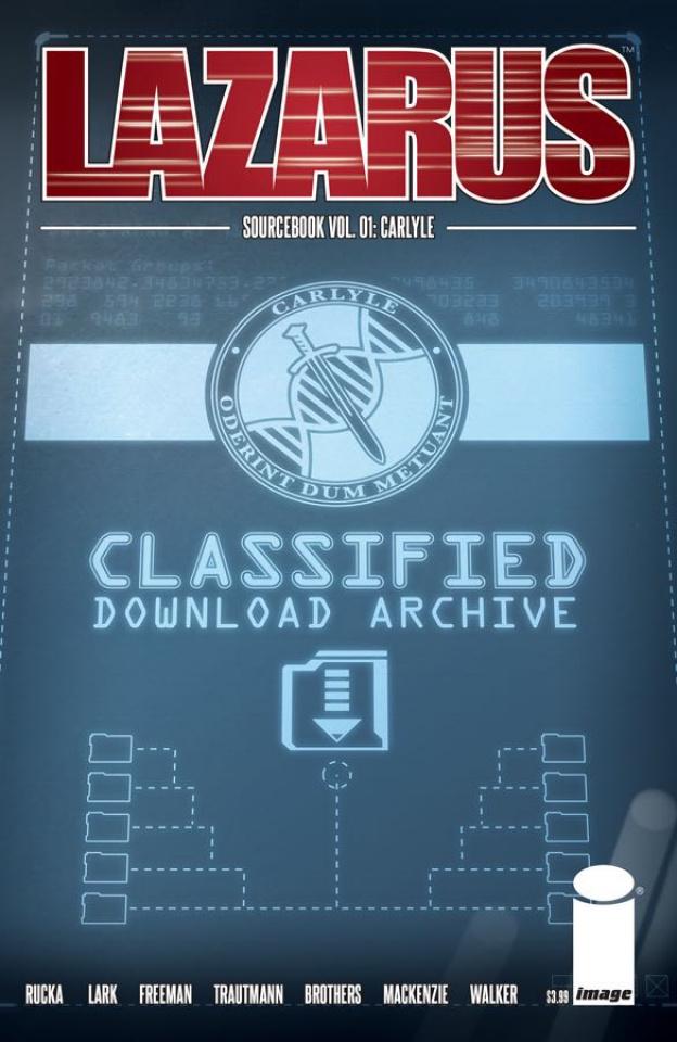 Lazarus: Sourcebook #1