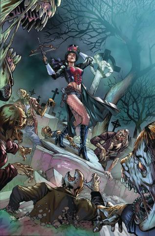 Van Helsing: The Sword of Heaven #6 (Vitorino Cover)