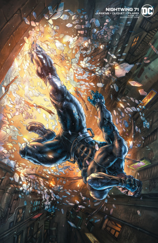 Nightwing #71 (Alan Quah Cover)