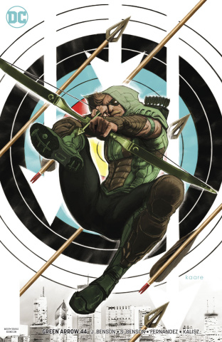 Green Arrow #44 (Variant Cover)