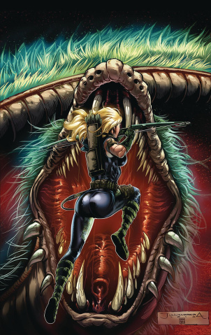 Robyn Hood: The Curse #6 (Abrera Cover)