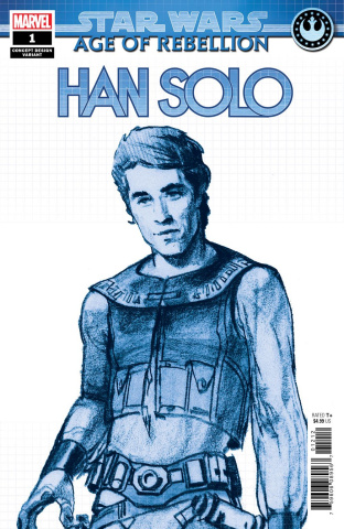 Star Wars: Age of Rebellion - Han Solo #1 (Concept Cover)