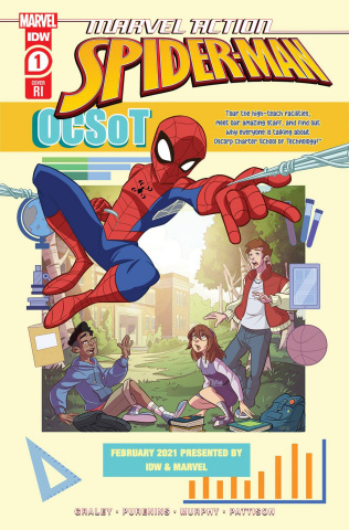 Marvel Action: Spider-Man #1 (10 Copy Cover)