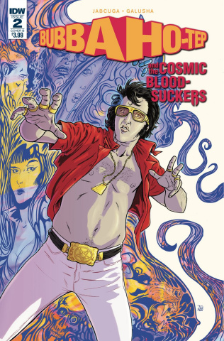 Bubba Ho-Tep and the Cosmic Blood-Suckers #2 (Galusha Cover)