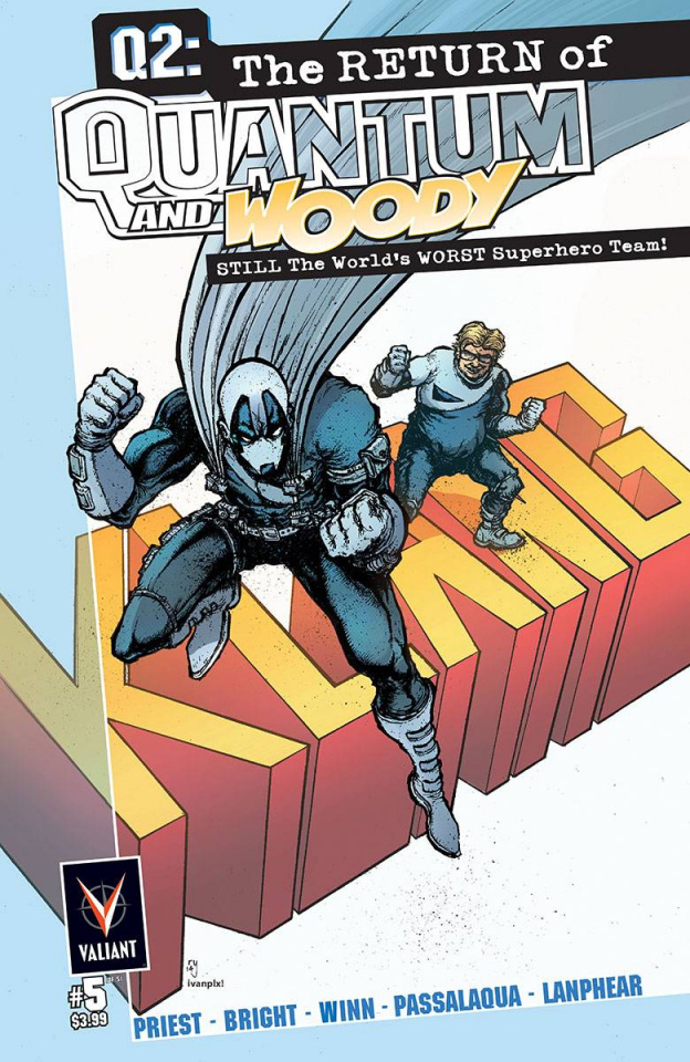 Q2: The Return of Quantum & Woody #5 (10 Copy Lee Cover)