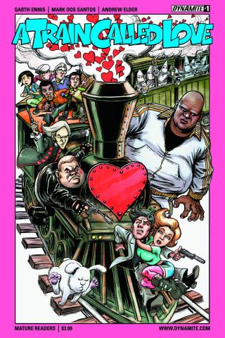 A Train Called Love #1 (Braun Cover)