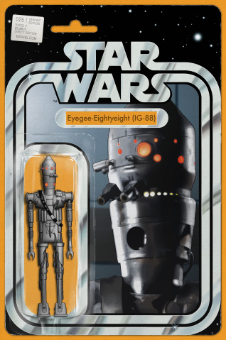 Star Wars #25 (Christopher Action Figure Cover)