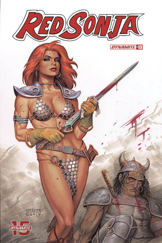 Red Sonja #13 (Linsner Cover)