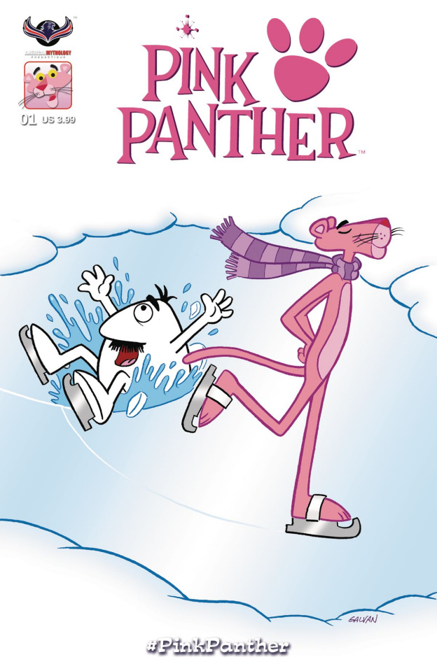 The Pink Panther Snow Day (Classic Pink Cover)