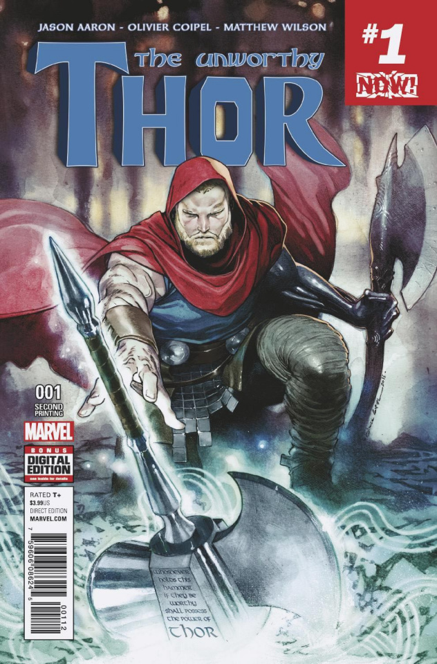 The Unworthy Thor #1 (2nd Printing Coipel Cover)