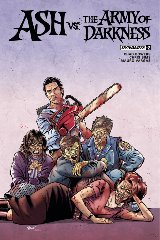 Ash vs. The Army of Darkness #2 (Schoonover Cover)