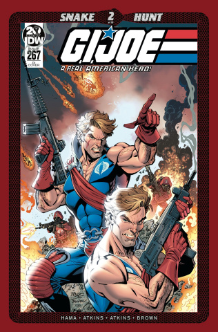 G.I. Joe: A Real American Hero #267 (10 Copy Royle Cover)