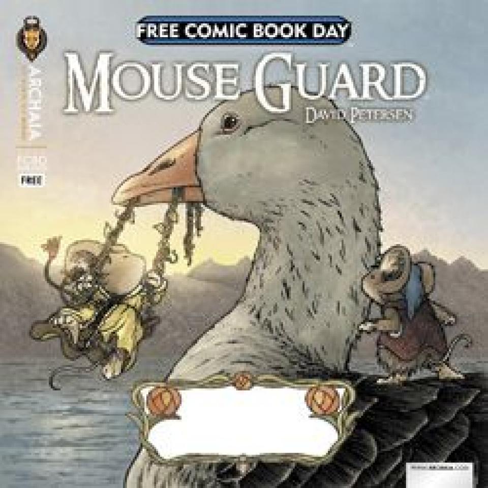 Mouse Guard / Rust Flip Book