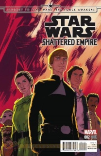 Journey to Star Wars: The Force Awakens - Shattered Empire #2 (Anka Cover)