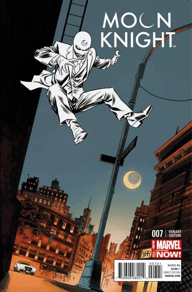 Moon Knight #7 (Shalvey Cover)