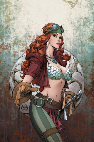 Legenderry: Red Sonja #5 (20 Copy Benitez Virgin Cover)