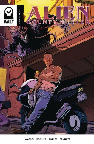 Alien Bounty Hunter #1 (2nd Printing)