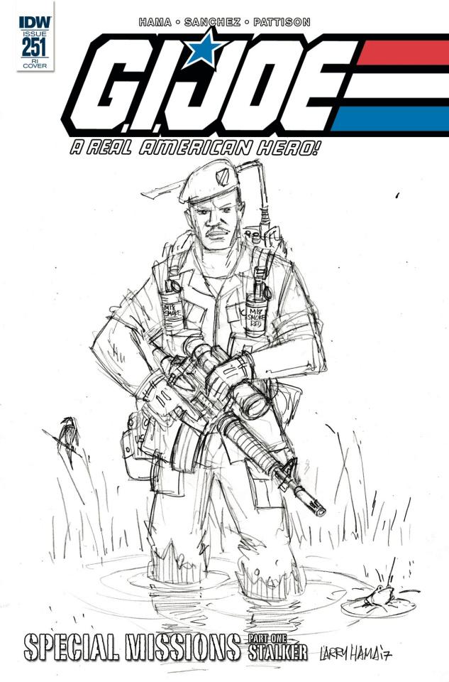G.I. Joe: A Real American Hero #251 (10 Copy Cover)