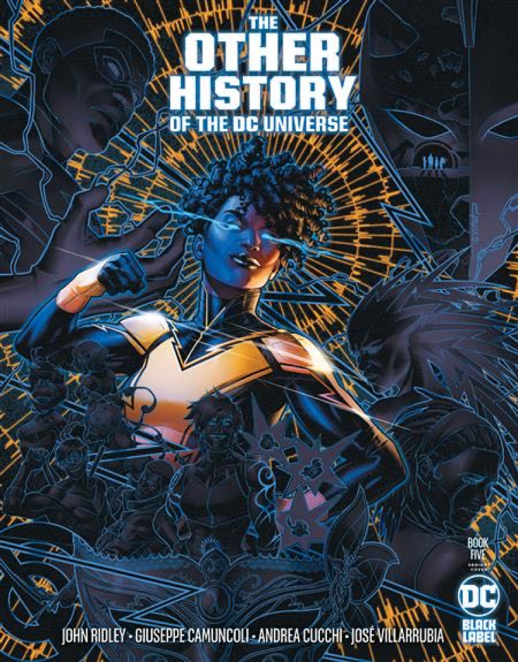 The Other History of the DC Universe #5 (Jamal Campbell Cover)