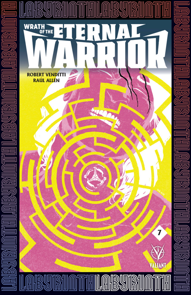 Wrath of the Eternal Warrior #7 (Allen Cover)