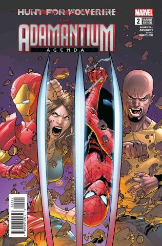 Hunt for Wolverine: The Adamantium Agenda #2 (Silva Cover)