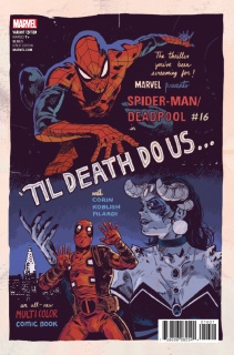 Spider-Man / Deadpool #16 (Walsh Poster Cover)