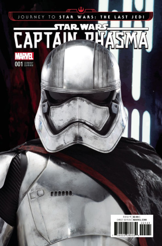 Journey to Star Wars: The Last Jedi - Captain Phasma #1 (Movie Cover)