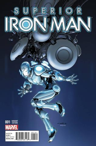 Superior Iron Man #1 (Cinar Design Cover)